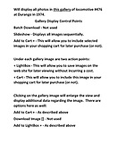 Russell Sperry Photo Collection User Instructions Page 2