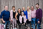 Enjoying the Lixnaw GAA Presentation Dance at the Rose Hotel on Saturday were David O'Sullivan, Anker Waltz, Mary Molloy, Nicola O Brien, Catherine O'Sullivan, Derek Molloy, Martin Sweeney and Katie Stack