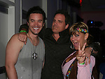 GL - Tom Pelphrey - ATWT - Michael Park & GL - Kim Zimmer at Guiding Light's Bradley Cole's Annual Rock Show for Charity was held on September 26, 2008 to benefit American Red Cross at the Greater New York Headquarters, New York City, New York. Two Shows and two pre-show mix-n-mingles. (Photo by Sue Coflin/Max Photos)