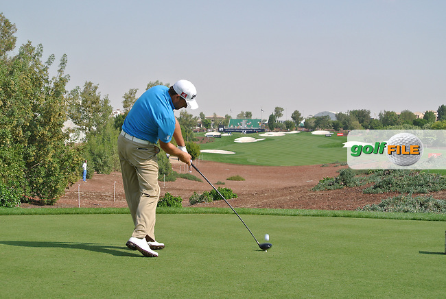 Graeme McDowell (NIR) on the first day of the DUBAI WORLD CHAMPIONSHIP presented by DP World, Jumeirah Golf Estates, Dubai, United Arab Emirates.Picture Fran Caffrey www.golffile.ie