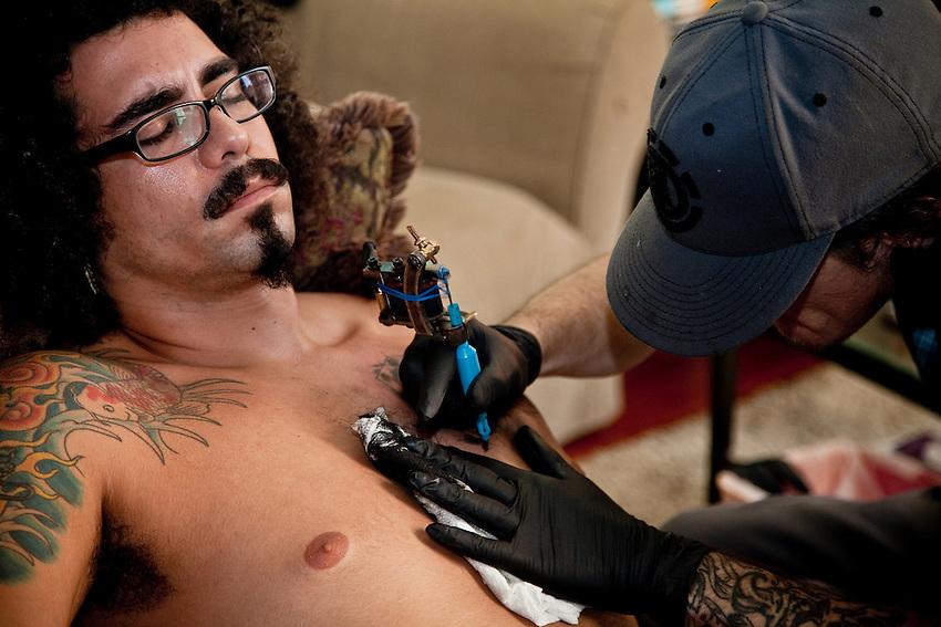 Zack tattoos Elio