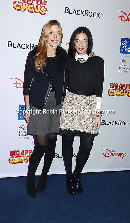 Mary-Alice Stephenson and Stacy London  attend the Hospital for Special Surgery's 8th Annual  Big Apple Circus Benefit on December 6, 2014 at Damrosch Park in Lincoln Center  in New York City, USA.<br /> <br /> photo by Robin Platzer/Twin Images<br />  <br /> phone number 212-935-0770