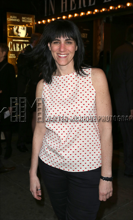Leigh Silverman attending the Broadway Opening Night Performance of 'Cabaret' at Studio 54 on April 24, 2014 in New York City.
