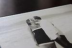 Joelle Leder Photography ©  2012 Guest Album, Flush Mount, Leather Bound, Photo Cover, Deep Matte Pages, Engagement Photos by <br /> Joelle Leder Photography Studio © 2013