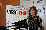 """One Life To Live Melissa Archer stars in """"West End"""" a film by Joe Basile about Family, Betrayal, Revenge - Greeting from the Jersey Shore - with its premiere at the Soho International Film Festival on April 11, 2013 at the Sunshine Cinema, New York City, New York. (Photo by Sue Coflin/Max Photos)"""