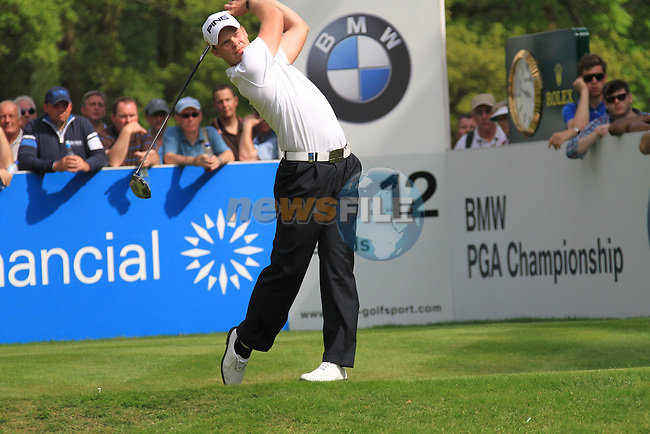 Danny Willett teeing from the 12th.during round two of the BMW PGA championship 2010 at Wentworth golf club, Surrey England..Picture Fran Caffrey/Newsfile.ie