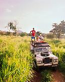 SRI LANKA, Asia, tourist traveling in Udawalawe National Wildlife Park