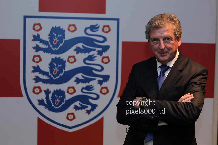 England's John Terry resigns  from playing for England..England manager Roy Hodgson .....Pic by Gavin Rodgers/Pixel 8000 Ltd 1.5.12