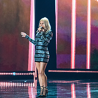 LAS VEGAS, NV - NOVEMBER 26: Fergie at The 66th Miss Universe Pageant at The AXS at Planet Hollywood in Las Vegas, Nevada on November 26, 2017. Credit: Damairs Carter/MediaPunch /NortePhoto NORTEPHOTOMEXICO