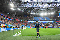 (General view) Antoine Griezmann of France during the Semi Final FIFA World Cup match between France and Belgium at Krestovsky Stadium on July 10, 2018 in Saint Petersburg, Russia. (Photo by Anthony Dibon/Icon Sport)