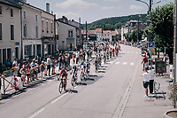 TdF peloton passing through town<br /> <br /> 104th Tour de France 2017<br /> Stage 4 - Mondorf-les-Bains &rsaquo; Vittel (203km)