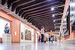 Visitors in the Room II, Renaisance Art, Museum of Fine Arts, Seville, Spain