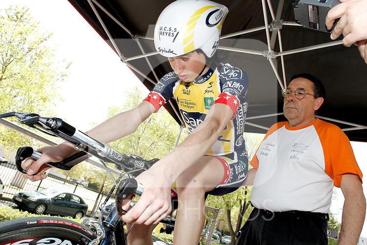 CRI contra reloj individual junior 8 Marco Greciano Sanse/Spiuk. (ALTERPHOTOS/Alvaro Hernandez)