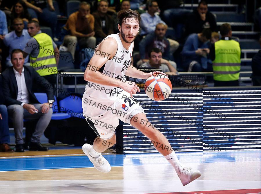 Kosarka Baketball season 2017-2018<br /> Friendly Match<br /> Partizan v Fenerbahce<br /> Marko Cakarevic<br /> Beograd, 26.09.2017<br /> foto: Srdjan Stevanovic/Starsportphoto &copy;