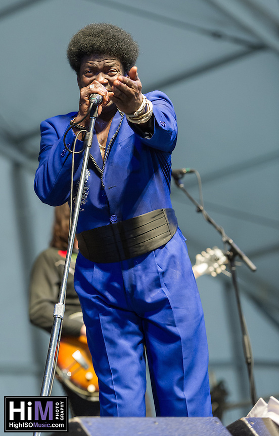 Charles Bradley performs at the 2013 New Orleans Jazz and Heritage Festival on April 27, 2013 in New Orleans, LA.