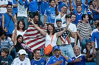 US Fans during FIFA World Cup qualifiers against El Salvador. USA tied El Salvador 2-2 at Estadio Cuscatlán Stadium in El Salvador on March 28, 2009.