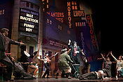 """February 10, 2011. Raleigh, NC..Photos of the dress rehearsal of the North Carolina Theatre's presentation of """"The Producers"""", which will run from February 11-20 at Memorial Auditorium in Raleigh."""
