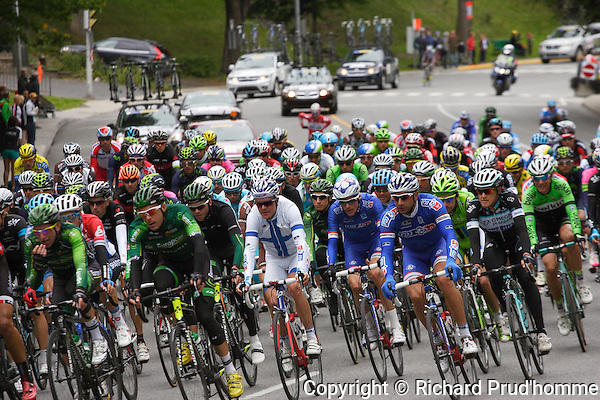 The UCI World Tour, Grand Prix Cycliste race on the streets of Montreal