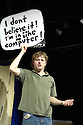 The Human Computer with Will Adamsdale.Performing at The Drill Hall at The Traverse Theatre  at  The Edinburgh Festival 2007 CREDIT Geraint Lewis