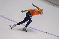 SCHAATSEN: CALGARY: Olympic Oval, 09-11-2013, Essent ISU World Cup, 1000m, Koen Verweij (NED), ©foto Martin de Jong