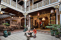 Malaysia, Pulau Penang, Georgetown: Penang Peranakan Mansion (recreation of a typical 19th century Baba home) | Malaysia, Pulau Penang, Georgetown: Penang Peranakan Mansion