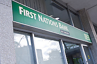 A First Nations Bank of Canada branch is pictured in Winnipeg Sunday May 22, 2011. Established in 1996, First Nations Bank of Canada (FNBC) (French: La Banque des Premieres Nations du Canada) is the only majority Aboriginal owned and controlled Bank in Canada