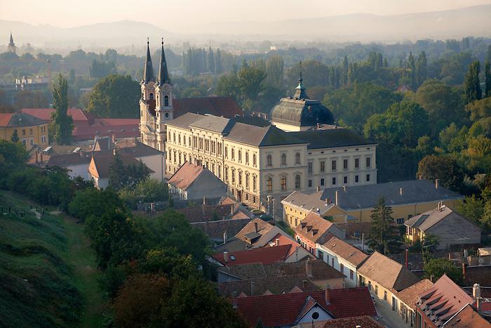 The Baroque Jesuit church and museum, Esztergom, Hungary