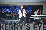 Mike Denver entertains his large following of fans in the Brandon Hotel Conference Centre on Friday night.