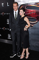 "NEW YORK, NY - JUNE 10: Michael Shannon and Kate Arrington attend the ""Man Of Steel"" World Premiere at Alice Tully Hall at Lincoln Center on June 10, 2013 in New York City. (Photo by Celebrity Monitor)"
