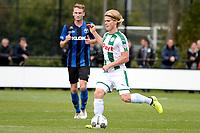 GRONINGEN - Voetbal, FC Groningen O23 - ACV, derde divisie, seizoen 2017-2018, 16-09-2017, FC Groningen speler Kolbeinn Finnsson