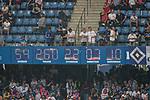 12.05.2018, Volksparkstadion, Hamburg, GER, 1.FBL. Hamburger SV vs Borussia Moenchengladbach,  im Bild   <br /> <br /> <br /> Die HSV Uhr vor dem Spiel<br /> <br /> Foto &copy; nordphoto / Kokenge
