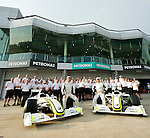02 Apr 2009, Kuala Lumpur, Malaysia ---   Brawn GP Formula One Team during the 2009 Fia Formula One Malasyan Grand Prix at the Sepang circuit near Kuala Lumpur. Photo by Victor Fraile --- Image by © Victor Fraile / The Power of Sport Images