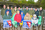 Members of the Laune Salmon and Trout Anglers Association who gathered at Beaufort Bridge to pick up all the litter on the banks of the River Laune last Saturday front row l-r: Richie Barry, Dan Shine, Jeanlvc Jegovzo, David Sharp, Pat Lyne. Back row: Padraig Griffin, Colm Lonergan, Ray Britt, Stuart Stevens, Conor Griffin, Richard Bowler, Billy Downes, Michael Collins, Michael O'Keeffe and Fred O'Connell