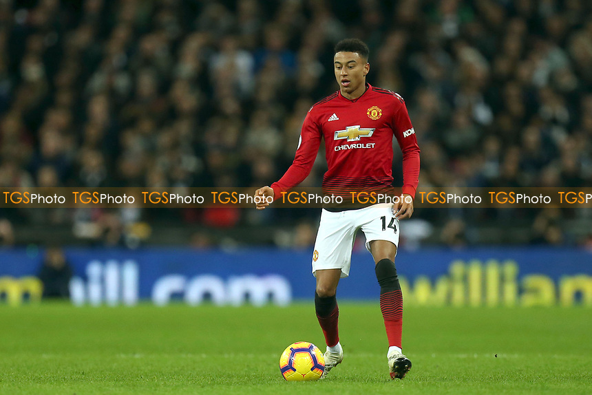 Jesse Lingard of Manchester United during Tottenham Hotspur vs Manchester United, Premier League Football at Wembley Stadium on 13th January 2019