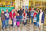 G.P.C.E. PETITION: Signing the G.P.C.E. petition to help bring 5,000 to Kerry at the Manor West shopping centre, Tralee on Saturday..