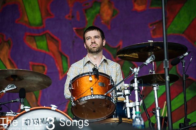Hurray for the Riff Raff performs during the New Orleans Jazz & Heritage Festival in New Orleans, LA.