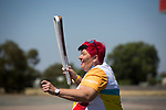 Batonbearer Gail Platz carrying the Baton as the Queen's Baton Relay passed through the town of West Wyalong. From 25 January to 2 March 2018, the Queen's Baton will visit every other state and territory before Queensland. As the Queen's Baton Relay travels the length and breadth of Australia, it will not just pass through, but spend quality time in each community it visits, calling into hundreds of local schools and community celebrations in every state and territory. The Gold Coast 2018 Commonwealth Games (GC2018) Queen's Baton Relay is the longest and most accessible in history, travelling through the Commonwealth for 388 days and 230,000 kilometres. After spending 100 days being carried by approximately 3,800 batonbearers in Australia, the Queen's Baton journey will finish at the GC2018 Opening Ceremony on the Gold Coast on 4 April 2018.