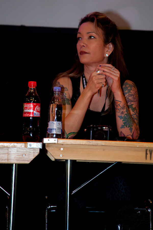 Snapshots from the Ink Festival in Copenhagen April 2011. Tree days of tattoo, tattooing and shows.