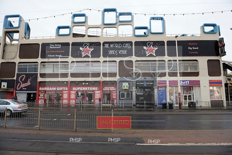 Palace Biludings/Sands venue,  Promenade, Blackpool Lancashire UK......© Phill Heywood.