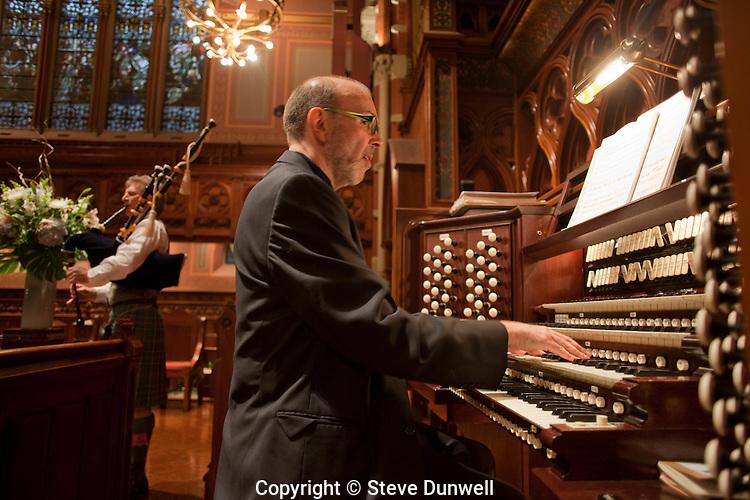 Harry Huff, music director, Old South Church, Boston, MA organ