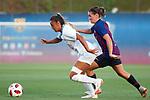 FC Barcelona vs Montpellier HSC: 1-2.<br /> Sakina Karchaoiu vs Mariona Caldentey.