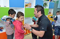 PIRACICABA, SP, 19.07.2013 - BRINQUEDOTECA KART DOS ARTISTAS -   Inauguração da brinquedoteca que foi entregue pela empresa Mattel do Brasil durante a participação do Evento do Kart dos Artistas, á E. M. Francisco Corrêa, Monte Líbano. ( FOTO: Mauricio Bento / Brazil Photo Press )