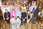 Bridie and Timmy O'Donoghue, Firies, pictured with their family as they celebrated their 50th wedding anniversary in Beaufort Bar on Friday night...................
