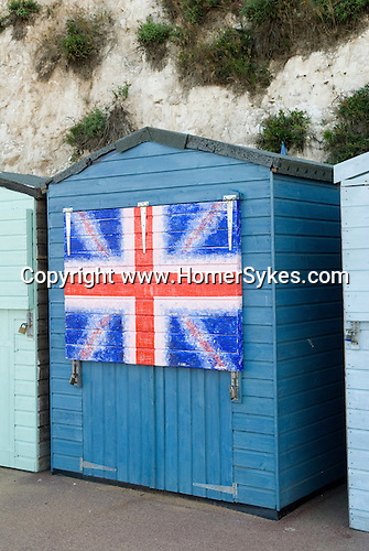 Broadstairs Kent Uk. British beach hut