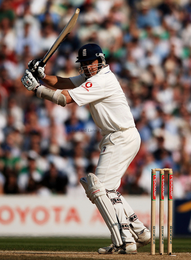 Photo: Glyn Thomas..England v Australia. nPower Test Series. The Ashes 2005..09/09/2005..England's Ashley Giles.