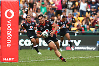 Roger Tuivasa Sheck. Vodafone Warriors v Gold Coast Titans, NRL Rugby League round 2, Mt Smart Stadium, Auckland. 17 March 2018. Copyright Image: Renee McKay / www.photosport.nz