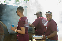Holmes Cultural Diversity Center BBQ <br />  (photo by Mitch Phillips / &copy; Mississippi State University)