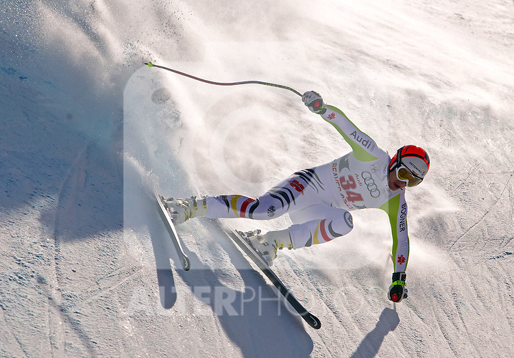 30.11.2011, Birds of Prey, Beaver Creek, USA, FIS Weltcup Ski Alpin, Abfahrt Herren, 2. Training, im Bild  German Ski Team Athlete Tobias Stechert // during a men's downhill practice session at FIS alpine Ski Worldcup on the Birds of Prey downhill course, Beaver Creek, United Staates on 2011/11/30 , EXPA Pictures © 2011, PhotoCredit: EXPA/ Jonathan Selkowitz..***** ATTENTION - out of USA *****
