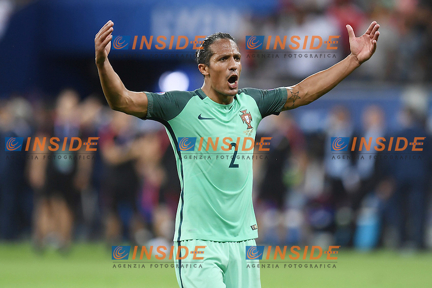 Bruno Alves celebrates Esultanza <br /> Lyon 06-07-2016 Stade de Lyon Football Euro2016 Portugal - Wales / Portogallo - Galles Semi-finals / Semifinali <br /> Foto Matteo Gribaudi  / Image / Insidefoto