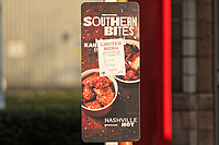 The KFC restaurant in the Llansamlet area of Swansea south Wales which has a limited menu due to the shortage of the supply of chicken. Wednesday 21 February 2018